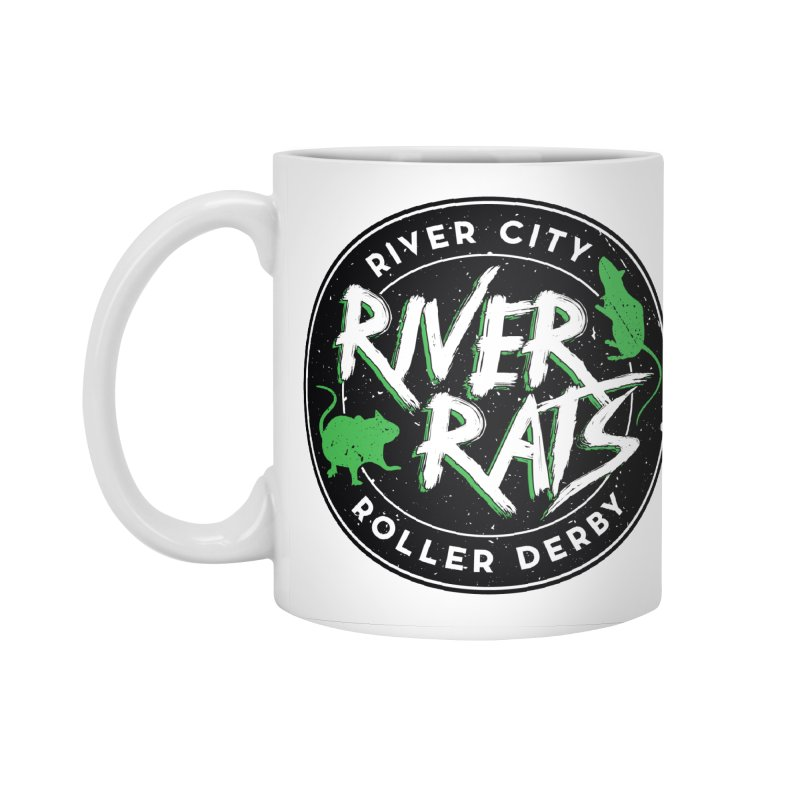 RCRD River Rats Accessories Standard Mug by River City Roller Derby's Artist Shop