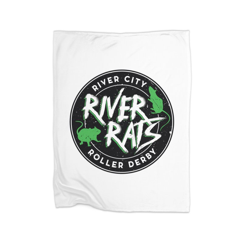 RCRD River Rats Home Blanket by River City Roller Derby's Artist Shop