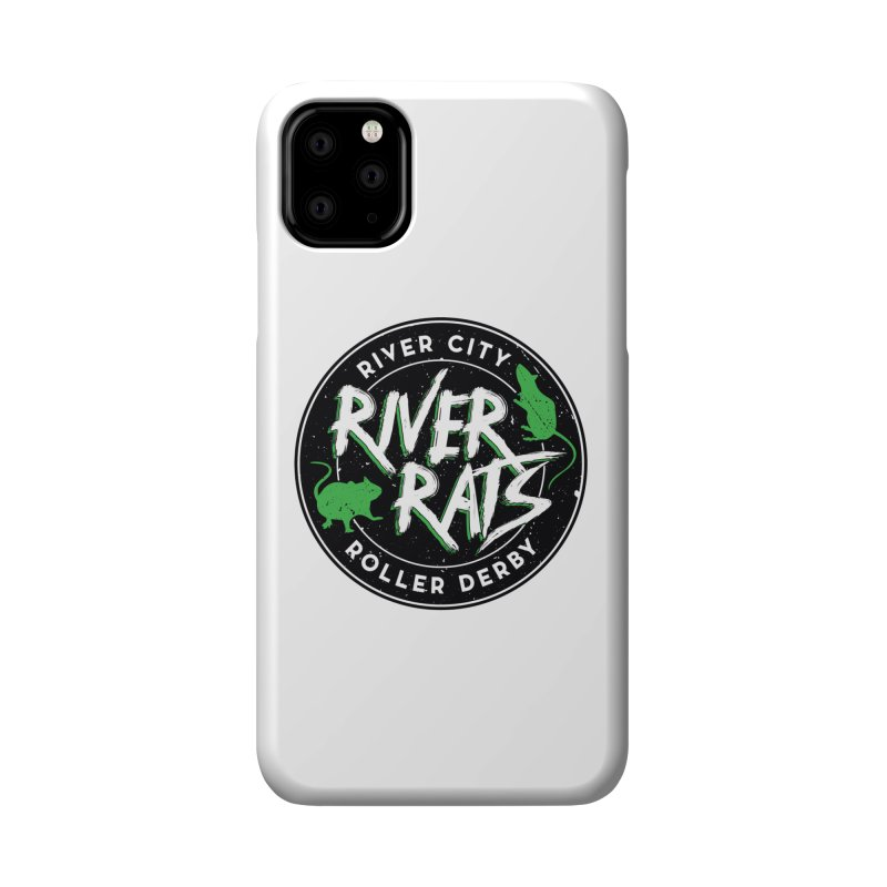 RCRD River Rats Accessories Phone Case by River City Roller Derby's Artist Shop