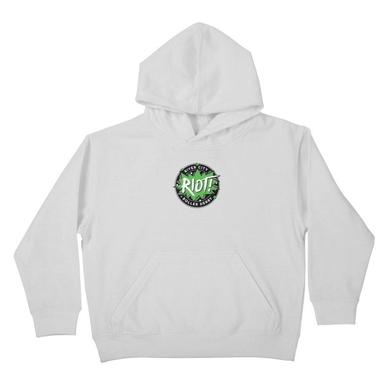 RCRD Riot! Kids Pullover Hoody by River City Roller Derby's Artist Shop