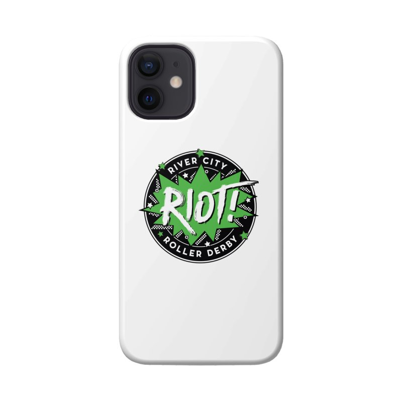RCRD Riot! Accessories Phone Case by River City Roller Derby's Artist Shop