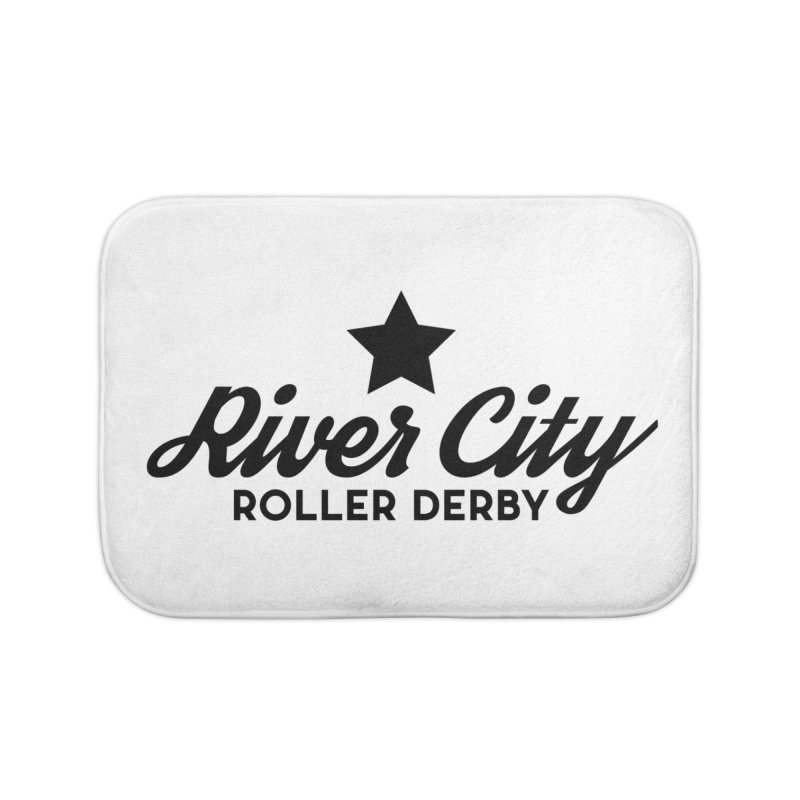 River City Roller Derby Home Bath Mat by RiverCityRollerDerby's Artist Shop