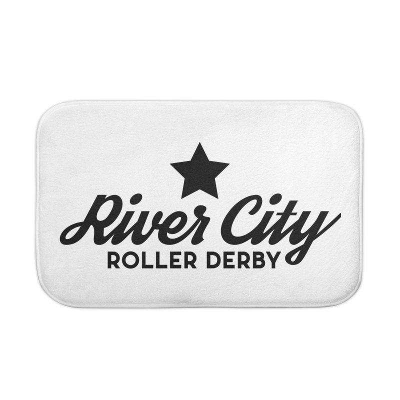 River City Roller Derby Home Bath Mat by River City Roller Derby's Artist Shop