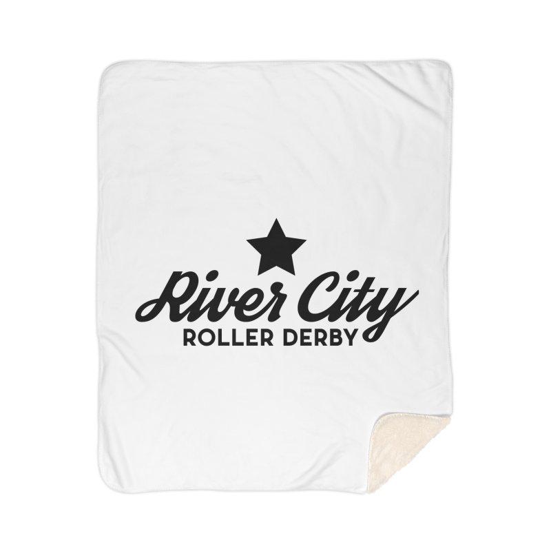 River City Roller Derby Home Sherpa Blanket Blanket by River City Roller Derby's Artist Shop