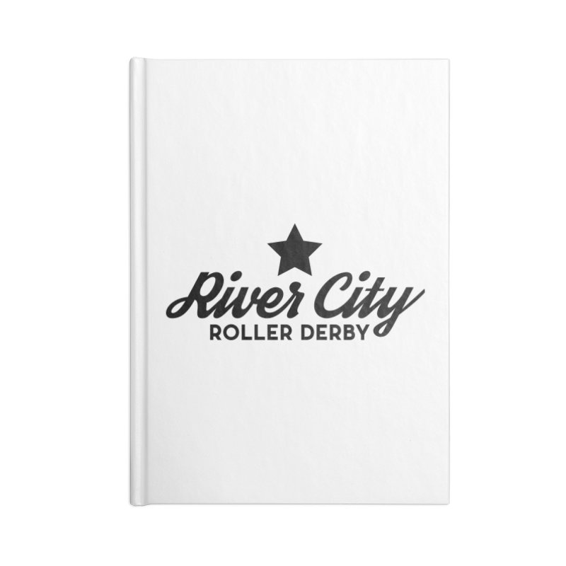 River City Roller Derby Accessories Lined Journal Notebook by River City Roller Derby's Artist Shop