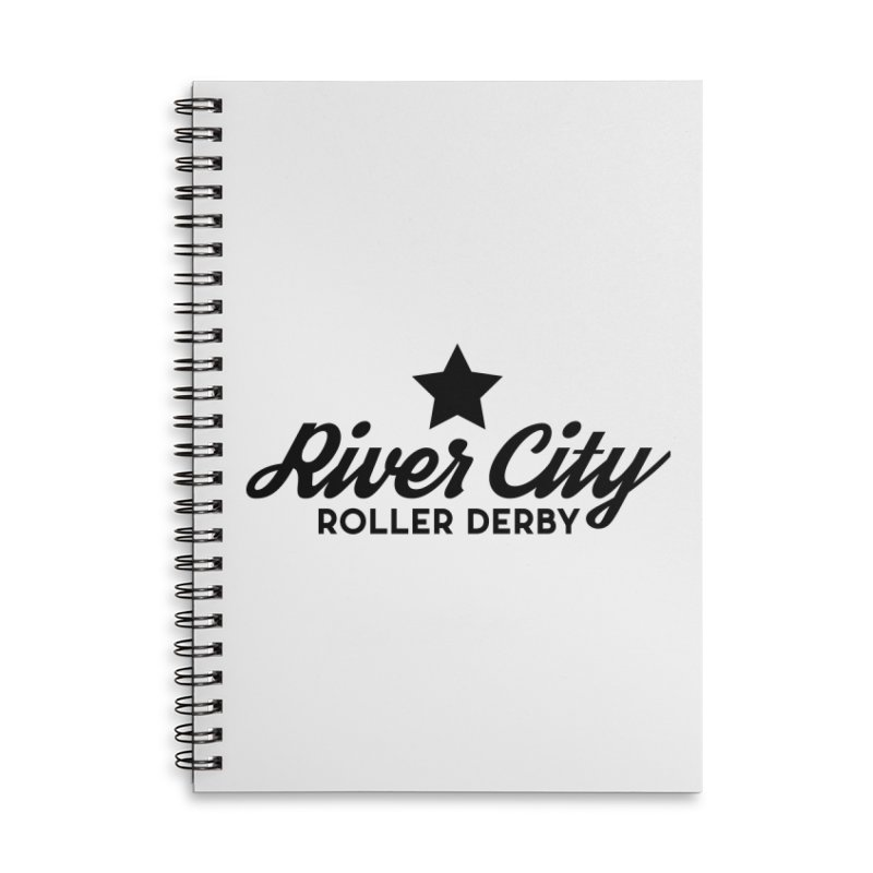 River City Roller Derby Accessories Lined Spiral Notebook by River City Roller Derby's Artist Shop