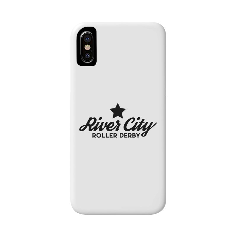 River City Roller Derby Accessories Phone Case by RiverCityRollerDerby's Artist Shop