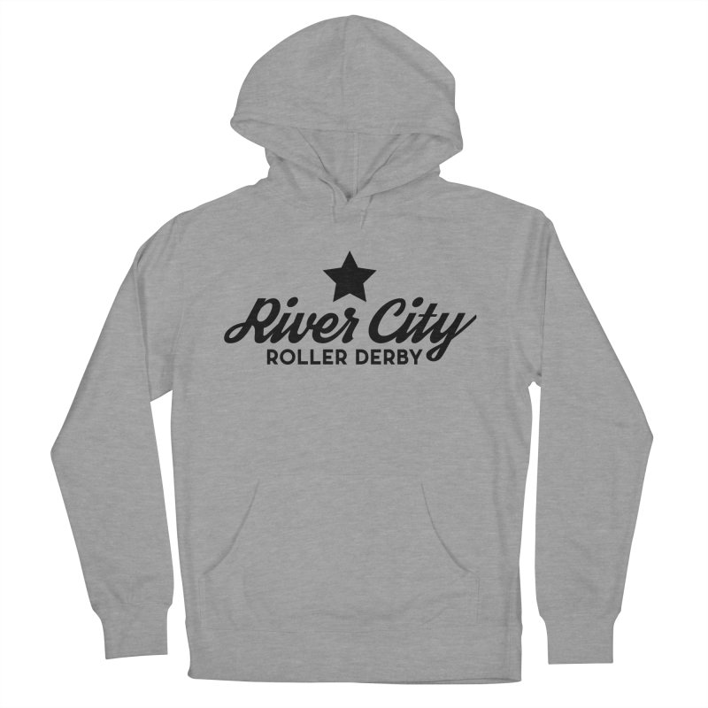 River City Roller Derby Women's French Terry Pullover Hoody by RiverCityRollerDerby's Artist Shop