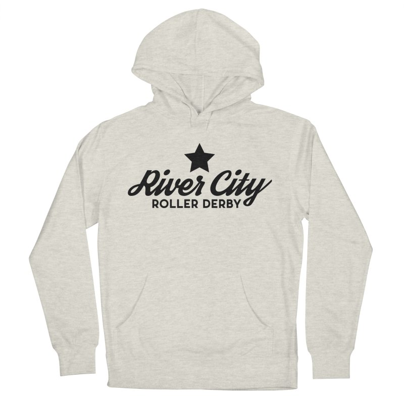 River City Roller Derby Men's French Terry Pullover Hoody by River City Roller Derby's Artist Shop