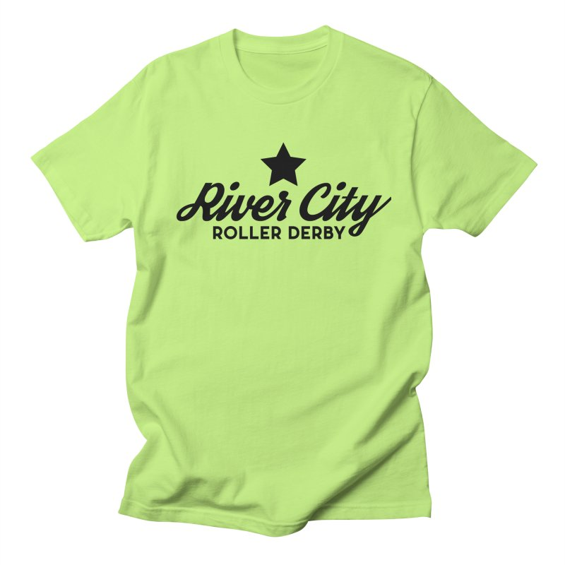 River City Roller Derby Men's Regular T-Shirt by River City Roller Derby's Artist Shop
