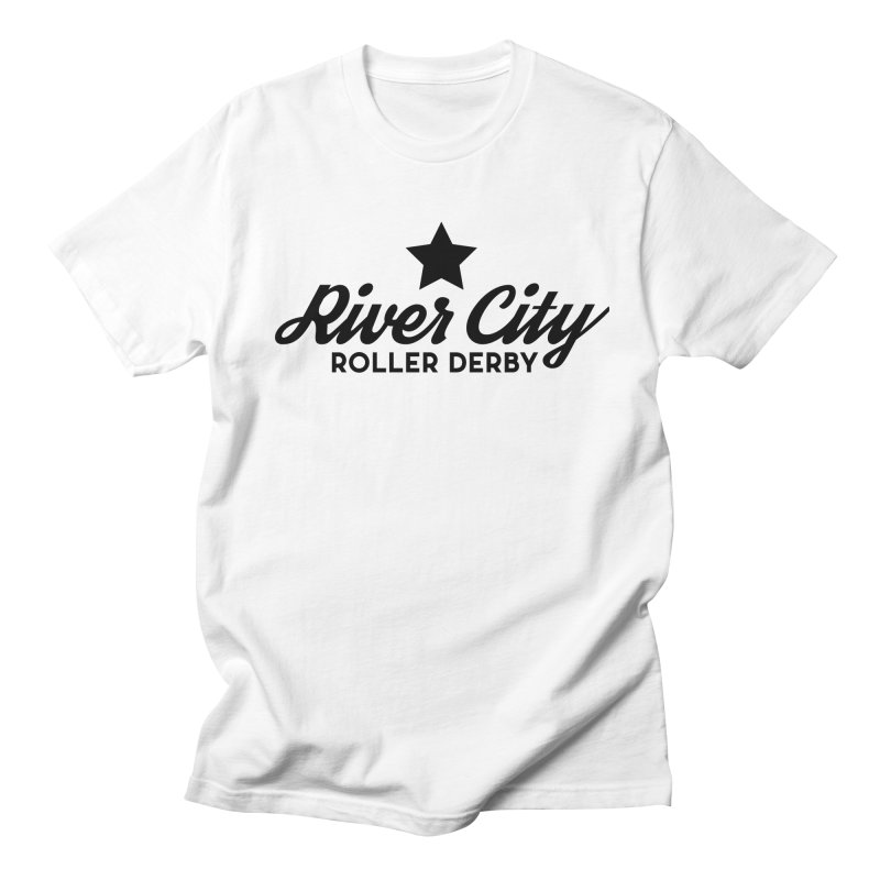 River City Roller Derby Women's Regular Unisex T-Shirt by RiverCityRollerDerby's Artist Shop