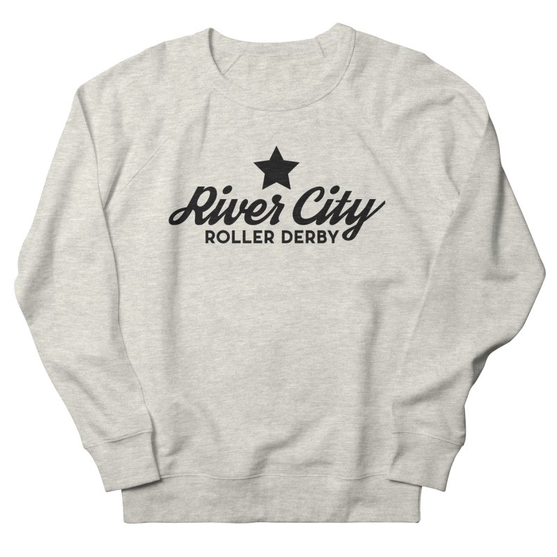 River City Roller Derby Men's French Terry Sweatshirt by RiverCityRollerDerby's Artist Shop