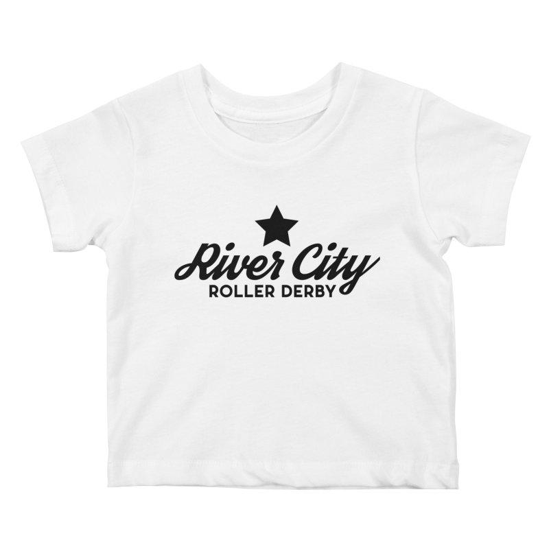River City Roller Derby Kids Baby T-Shirt by RiverCityRollerDerby's Artist Shop