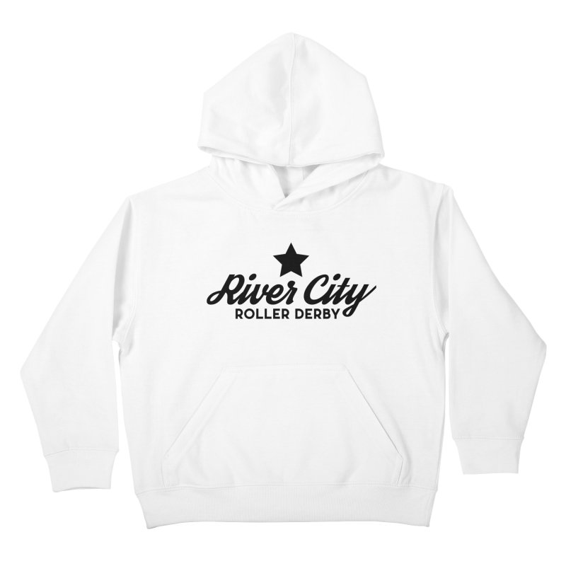 River City Roller Derby Kids Pullover Hoody by RiverCityRollerDerby's Artist Shop