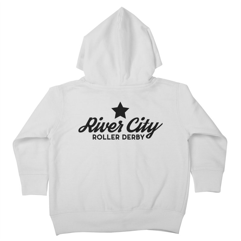 River City Roller Derby Kids Toddler Zip-Up Hoody by River City Roller Derby's Artist Shop
