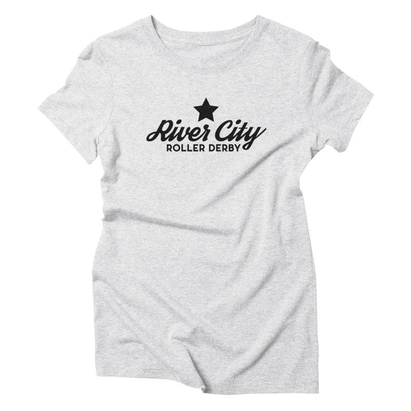 River City Roller Derby Women's Triblend T-Shirt by River City Roller Derby's Artist Shop
