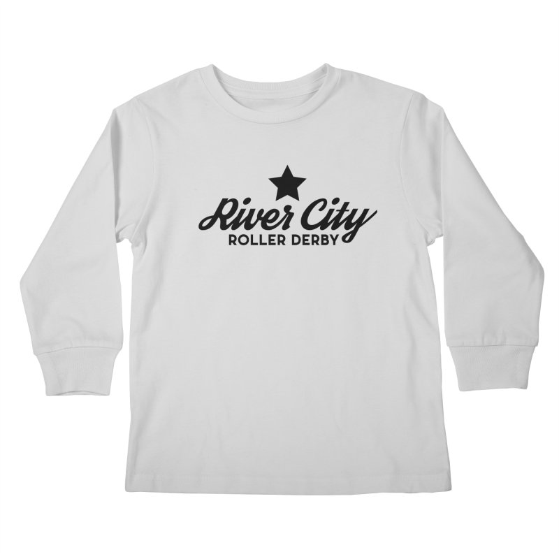 River City Roller Derby Kids Longsleeve T-Shirt by River City Roller Derby's Artist Shop