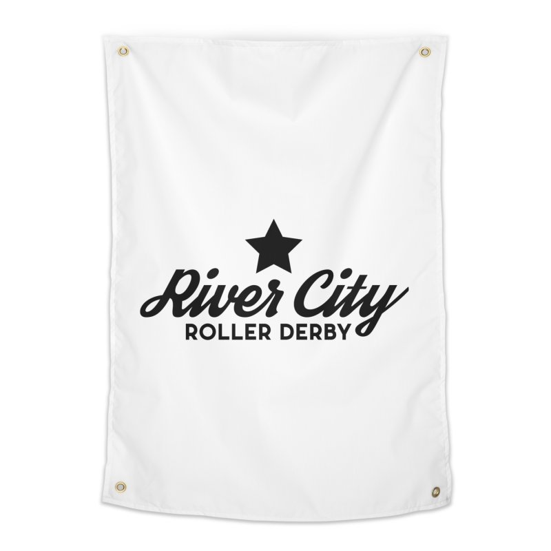 River City Roller Derby Home Tapestry by RiverCityRollerDerby's Artist Shop