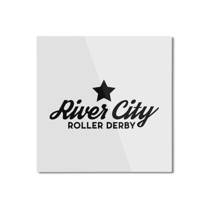 River City Roller Derby Home Mounted Aluminum Print by River City Roller Derby's Artist Shop