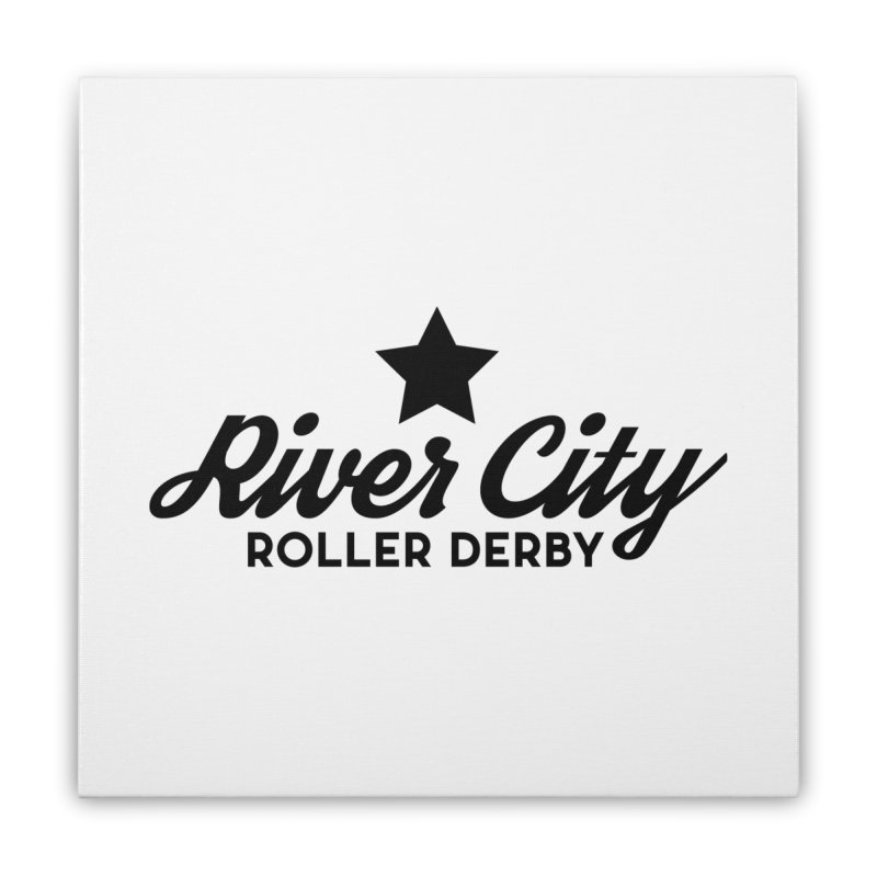 River City Roller Derby Home Stretched Canvas by RiverCityRollerDerby's Artist Shop