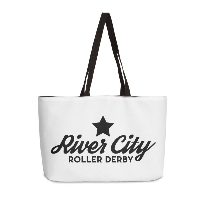 River City Roller Derby Accessories Weekender Bag Bag by River City Roller Derby's Artist Shop