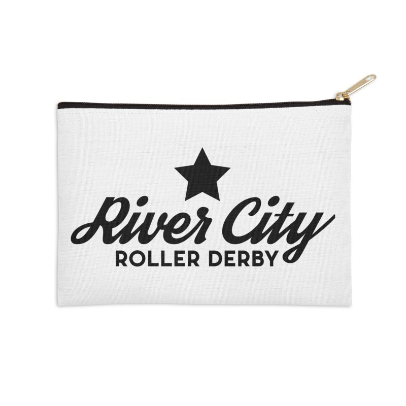 River City Roller Derby Accessories Zip Pouch by River City Roller Derby's Artist Shop