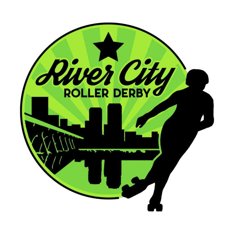 River City Roller Derby Logo by RiverCityRollerDerby's Artist Shop