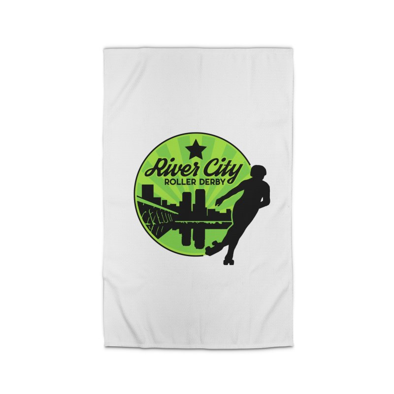 River City Roller Derby Logo Home Rug by River City Roller Derby's Artist Shop