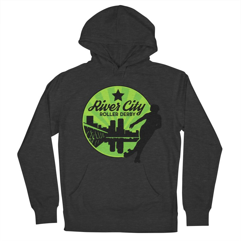 River City Roller Derby Logo Women's French Terry Pullover Hoody by River City Roller Derby's Artist Shop