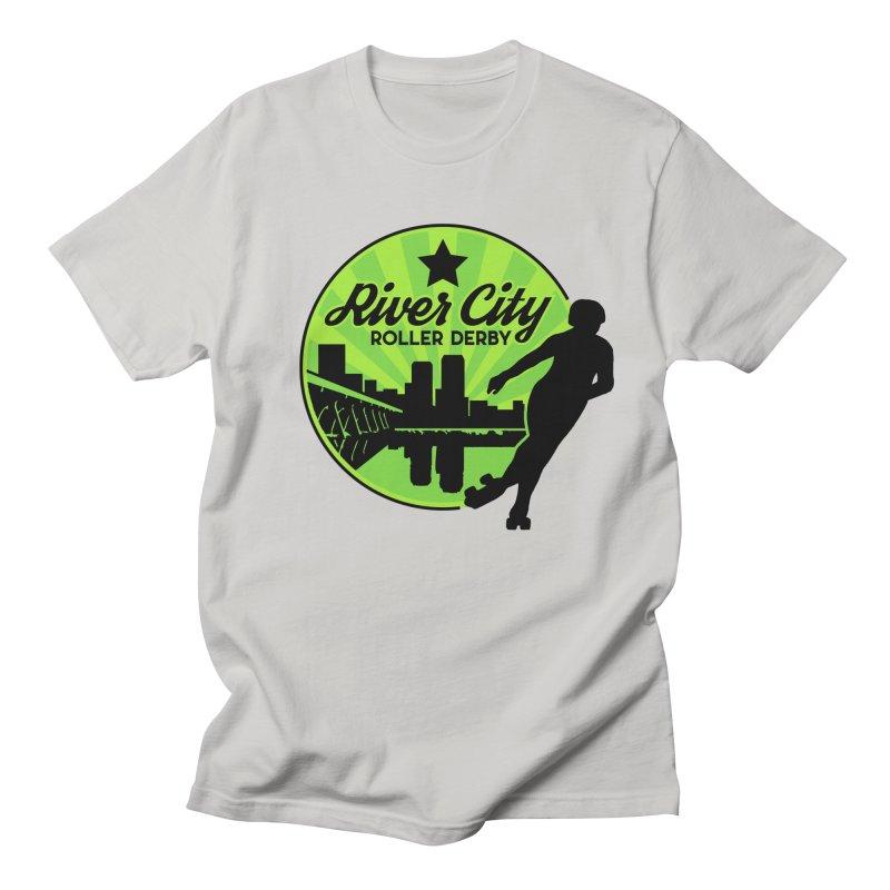 River City Roller Derby Logo Women's Regular Unisex T-Shirt by River City Roller Derby's Artist Shop