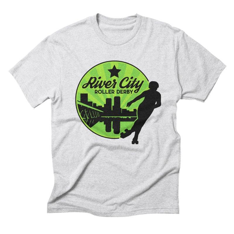 River City Roller Derby Logo Men's Triblend T-Shirt by River City Roller Derby's Artist Shop