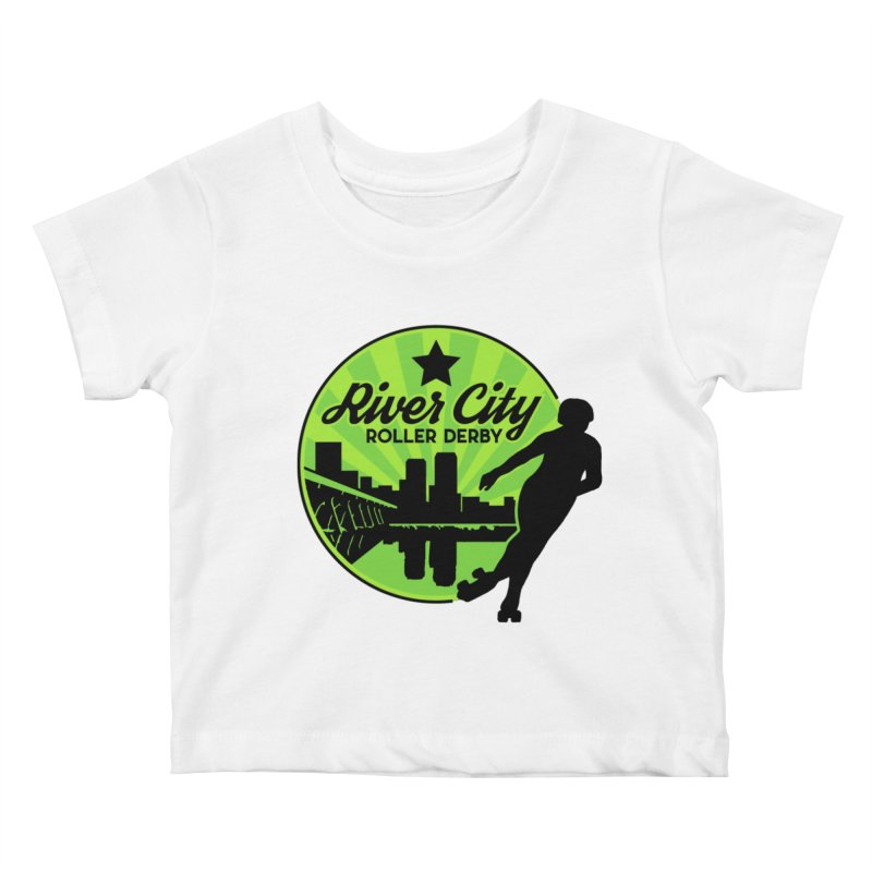River City Roller Derby Logo Kids Baby T-Shirt by River City Roller Derby's Artist Shop
