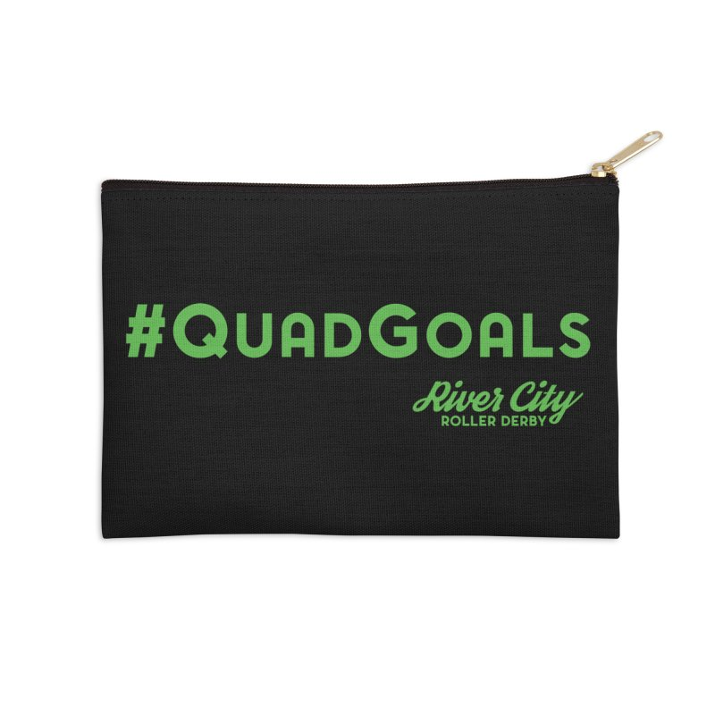 #QuadGoals Accessories Zip Pouch by River City Roller Derby's Artist Shop