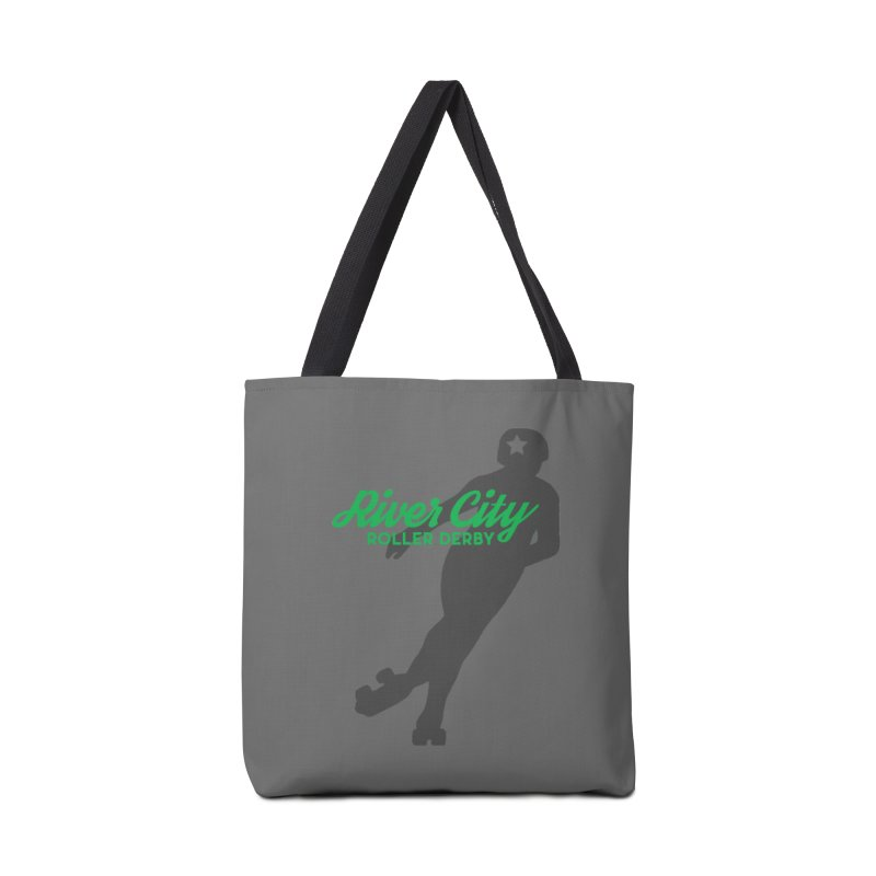 River City Roller Derby Skater Accessories Tote Bag Bag by River City Roller Derby's Artist Shop