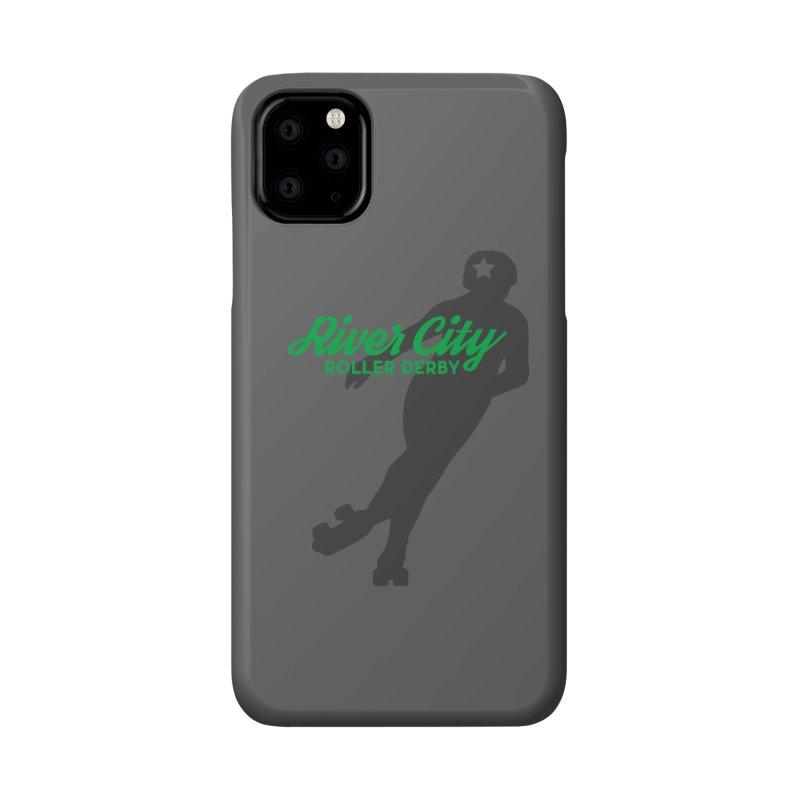 River City Roller Derby Skater Accessories Phone Case by River City Roller Derby's Artist Shop
