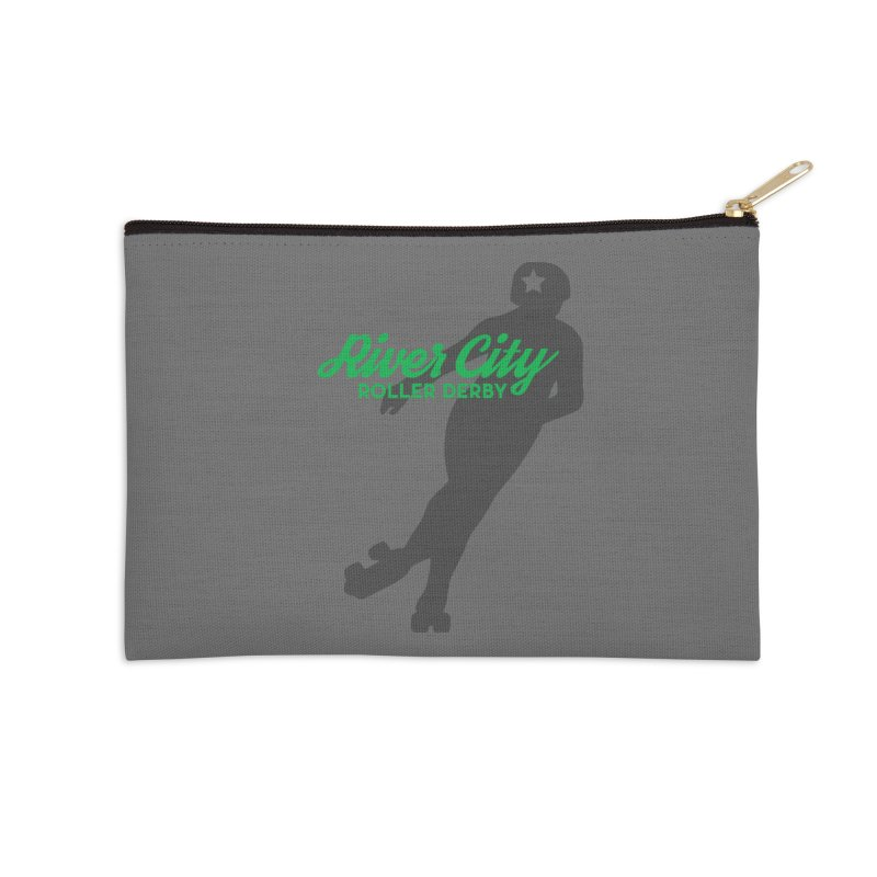 River City Roller Derby Skater Accessories Zip Pouch by River City Roller Derby's Artist Shop