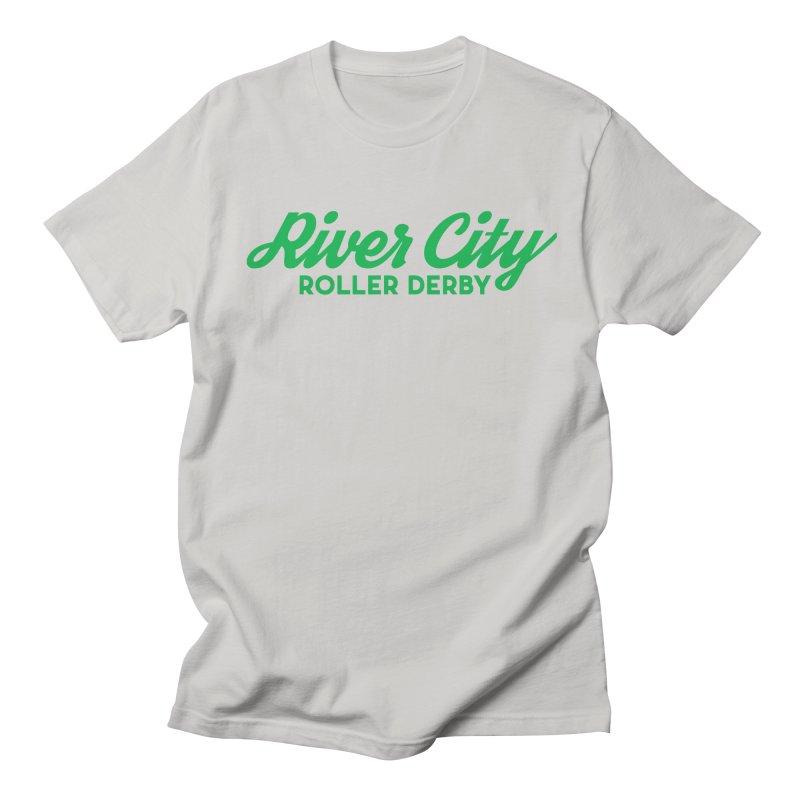 River City Roller Derby Green Women's Regular Unisex T-Shirt by River City Roller Derby's Artist Shop