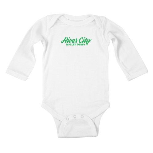 4319af5d Shop RiverCityRollerDerby on Threadless kids baby-longsleeve-bodysuit