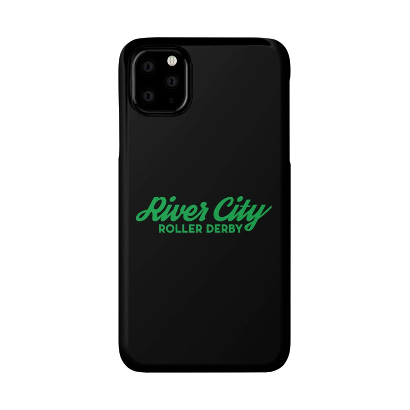 River City Roller Derby Green Accessories Phone Case by River City Roller Derby's Artist Shop