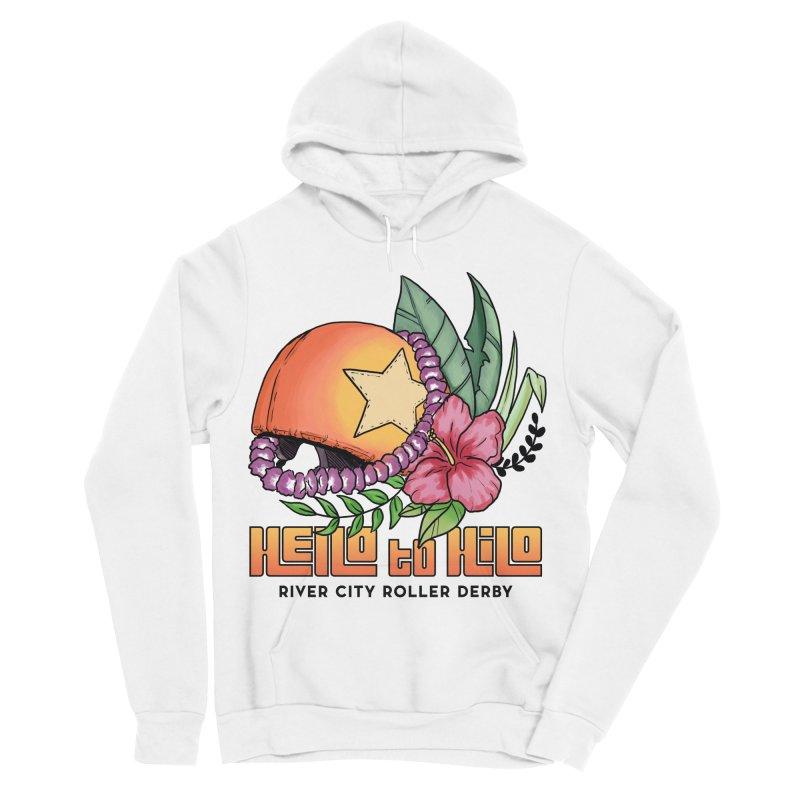 Hello to Hilo Men's Sponge Fleece Pullover Hoody by River City Roller Derby's Artist Shop