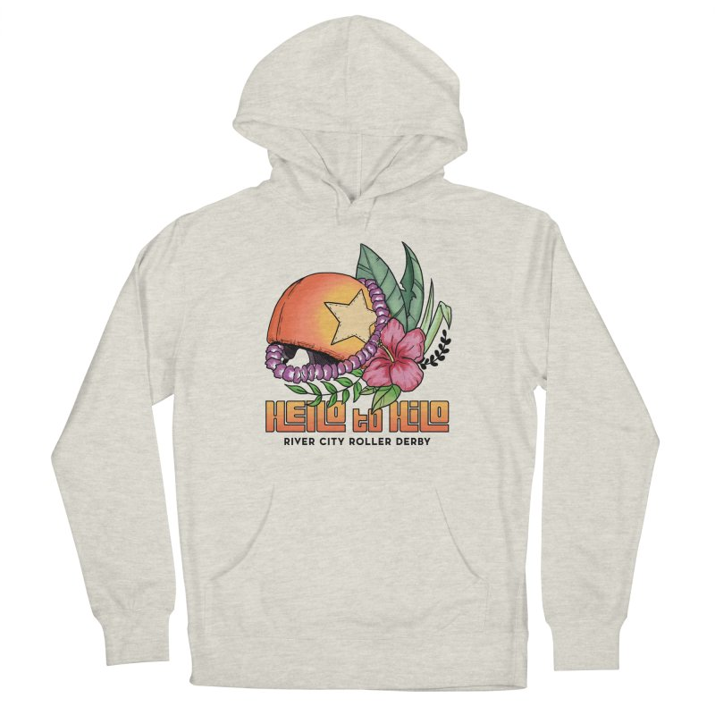 Hello to Hilo Men's Pullover Hoody by River City Roller Derby's Artist Shop