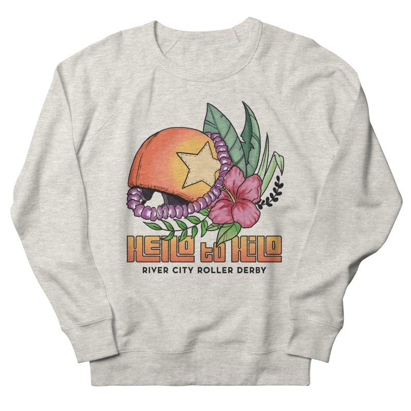 Hello to Hilo Men's Sweatshirt by River City Roller Derby's Artist Shop