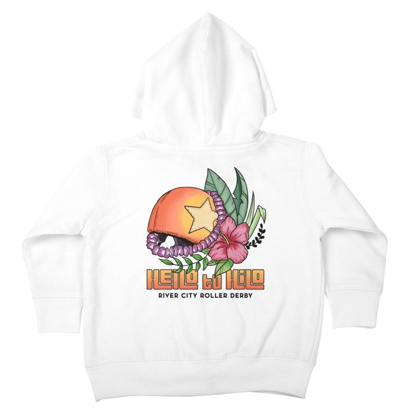 Hello to Hilo Kids Toddler Zip-Up Hoody by River City Roller Derby's Artist Shop