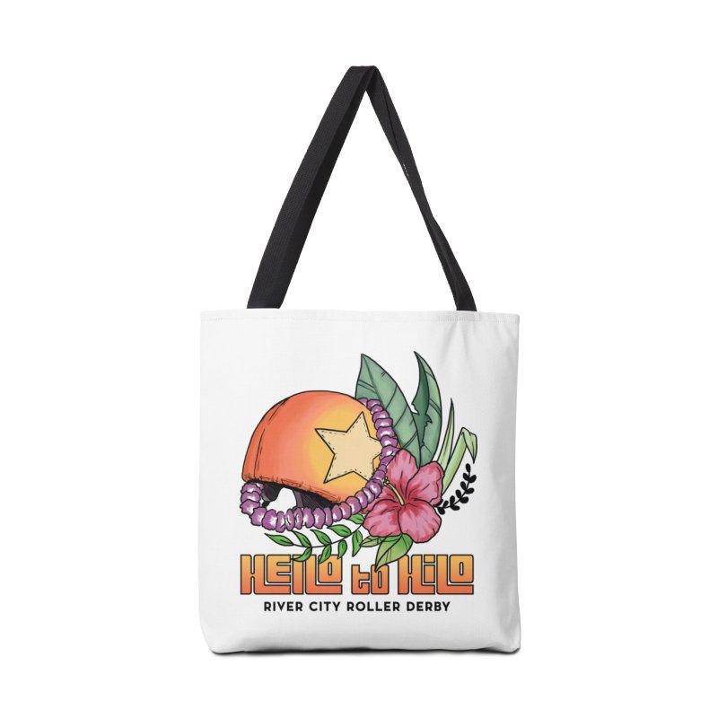 Hello to Hilo Accessories Tote Bag Bag by River City Roller Derby's Artist Shop