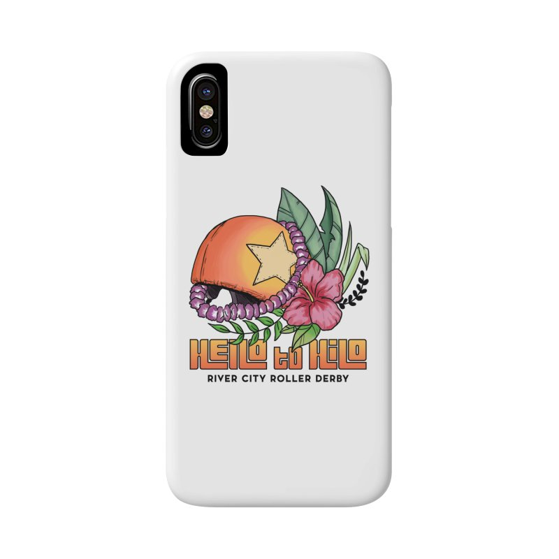 Hello to Hilo Accessories Phone Case by River City Roller Derby's Artist Shop
