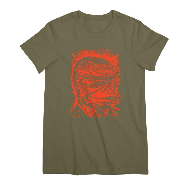 Freedom Gas T Women's Premium T-Shirt by RobBoyleArt's Artist Shop