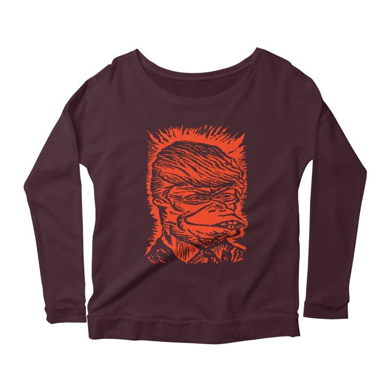 Freedom Gas T Women's Scoop Neck Longsleeve T-Shirt by RobBoyleArt's Artist Shop