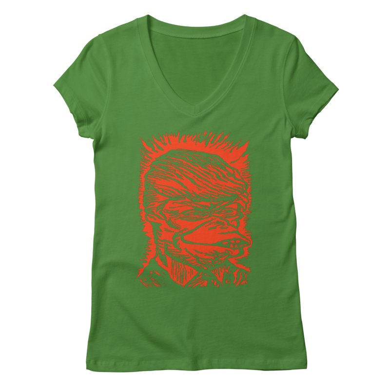 Freedom Gas T Women's V-Neck by RobBoyleArt's Artist Shop