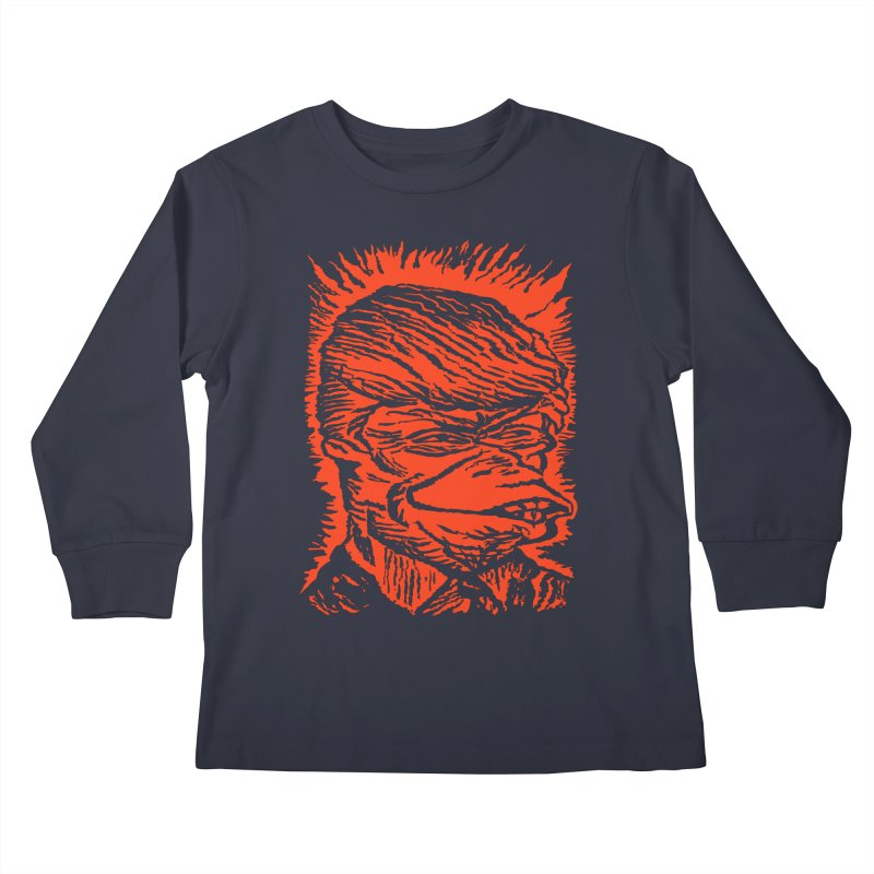 Freedom Gas T Kids Longsleeve T-Shirt by RobBoyleArt's Artist Shop
