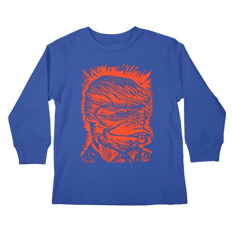 Freedom Gas T Kids Longsleeve T-Shirt by RobBoyleArt's Artist Shop